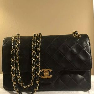 Coming soon rare chanel vintage small double flap